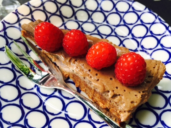Choc n rasberry torte